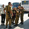 The Israeli military training program includes bringing the young soldiers to Jerusalem.