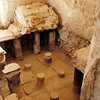 Herod's bathhouse.  He devised a clever system to deliver hot and cold water.