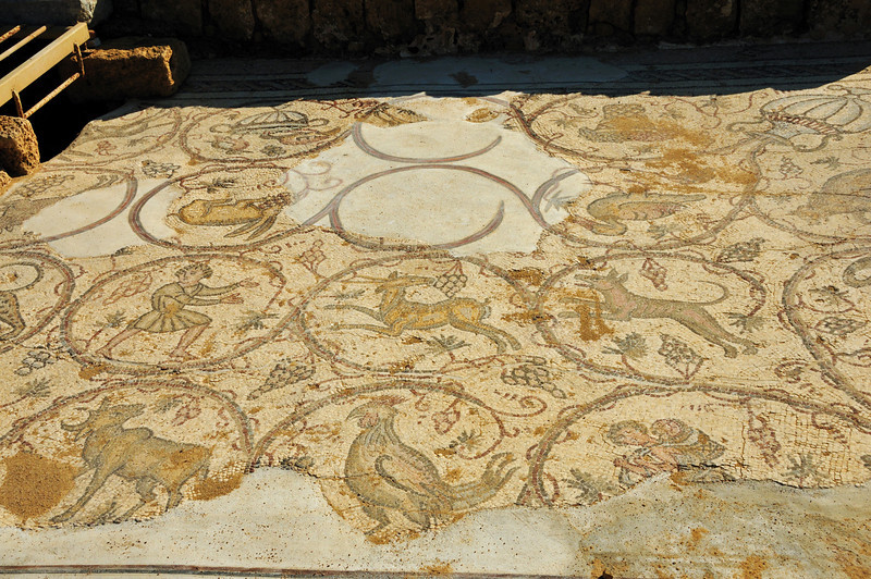Just a few mosaics remain.