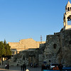 The Church Of The Nativity, one of the oldest continuously operating churches in the world. The structure is built over the cave that tradition marks as the birthplace of Jesus