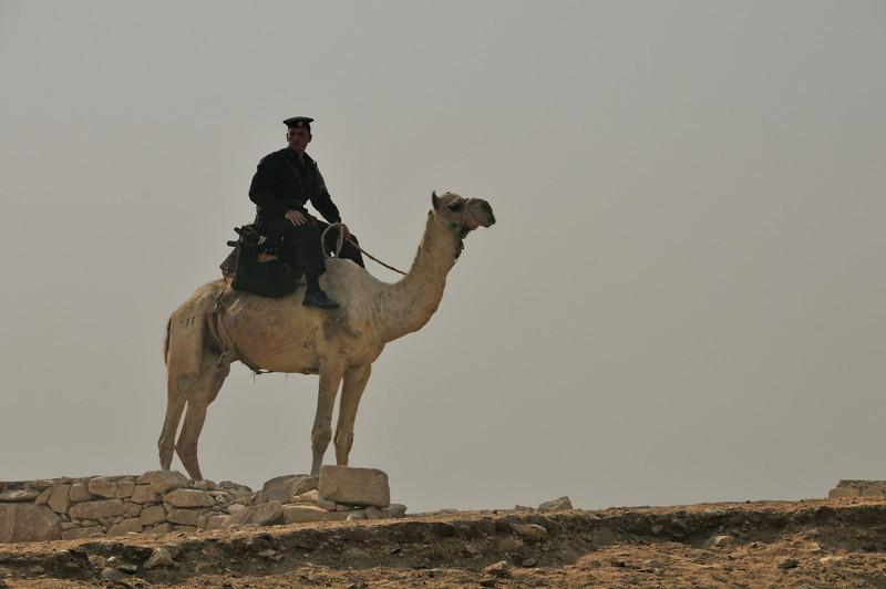 A guard on the Plateau.