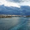 Leaving Malta.