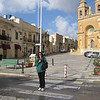 Angie, Mel and I hired a taxi for the morning.  Our first stop was the colorful village of Marsaxlokk, located by a natural harbor.