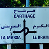 We drove past some of the ruins of Carthage on our way to a small coastal town.