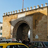 One of the gates leading into the souk (market) of Tunis.