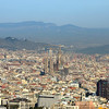 La Sagrada Familia dominates the skyline.