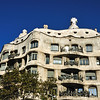 Gaudi apartment building.