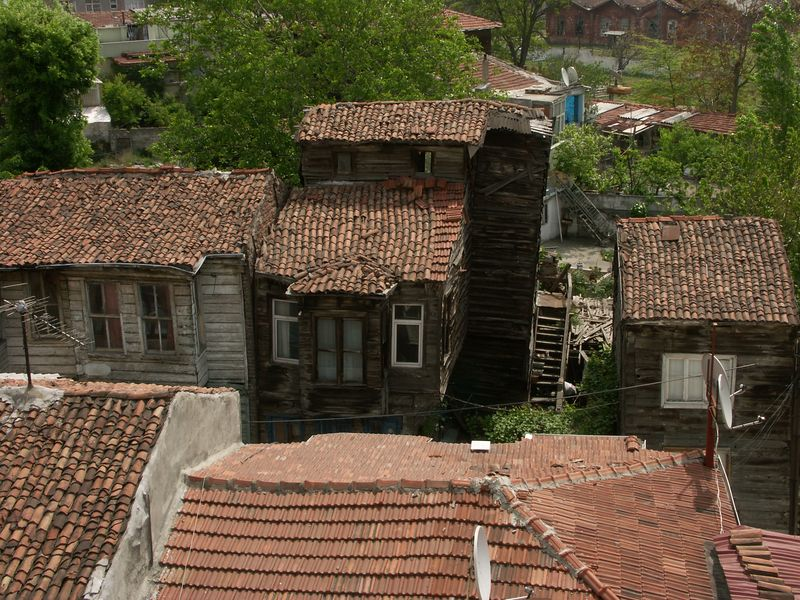 Old Turkish house.