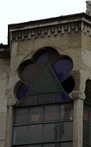 Nice shape on a small church window.