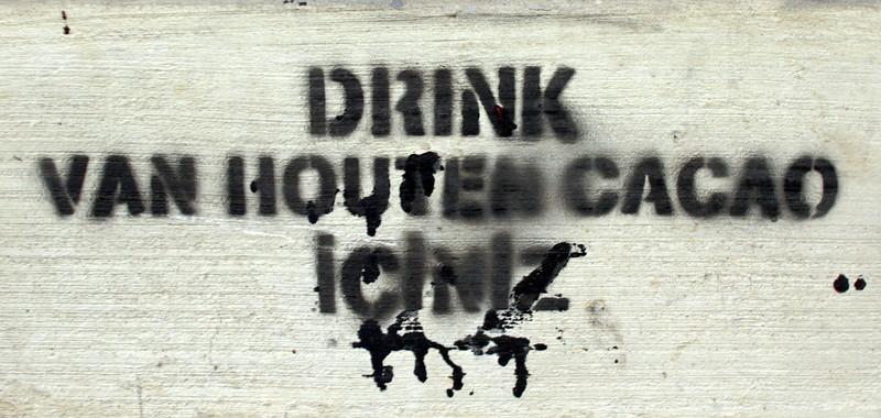 Graffiti? Stencil advertising?