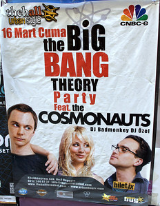 Big Bang Theory? Just a party themed after it? Harley Davidson was a sponsor? I'm so confused.