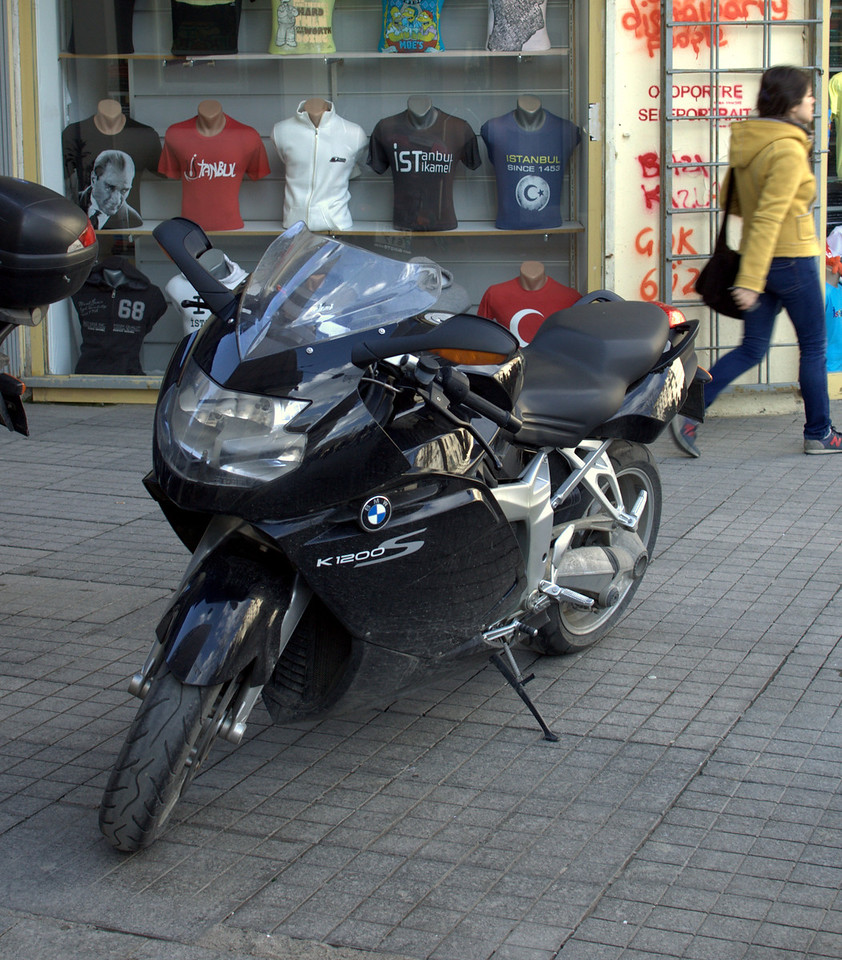 Surprisingly large bike for Istanbul.