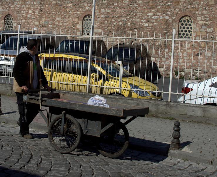 Street cart.