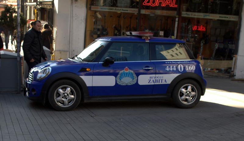 Police mini! Love it.