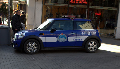 Police mini! Love it.
