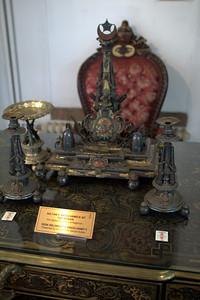 Fancypants desk set of Sultan Abdul Hamid II, who ruled 1876-1909.