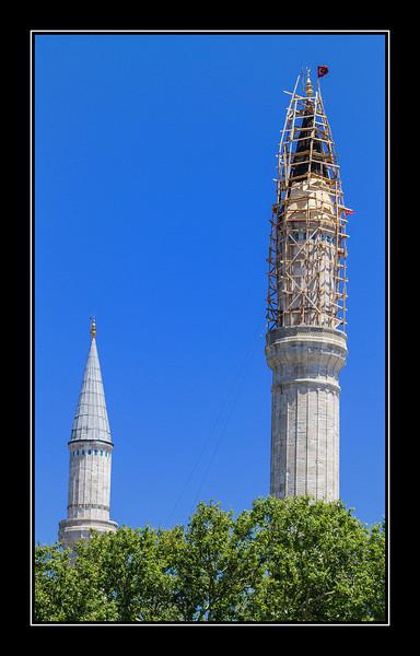 Hagia Sophia minarets