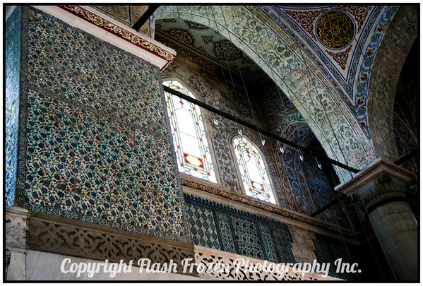 Inside the Mosque<br /> istanbul, Turkey