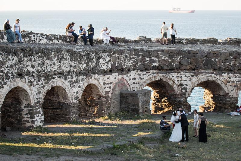 Ancient castle grounds