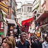 Busy street near the Spice Market. Istanbul is crowded and frenetic, but the Turks are warm and friendly and it never felt overwhelming.