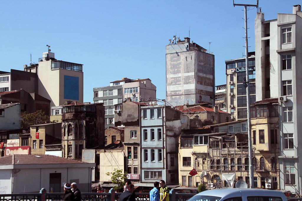 Street skyline