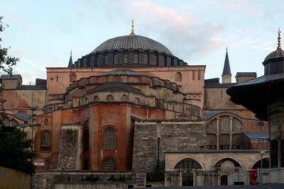 Side View of Hagia Sophia