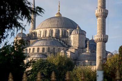 NE Corner of Blue Mosque