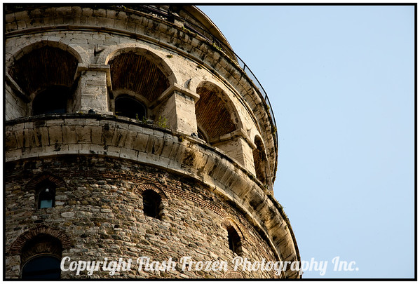 Another view of the Galata Tower<br /> istanbul, Turkey
