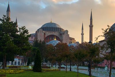 Hagia Sophia in the Morning
