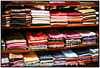 Pashmina Piles at the Spice Market