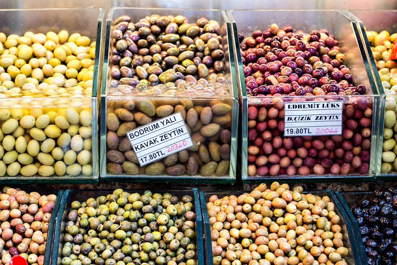 Olives at The Spice Market