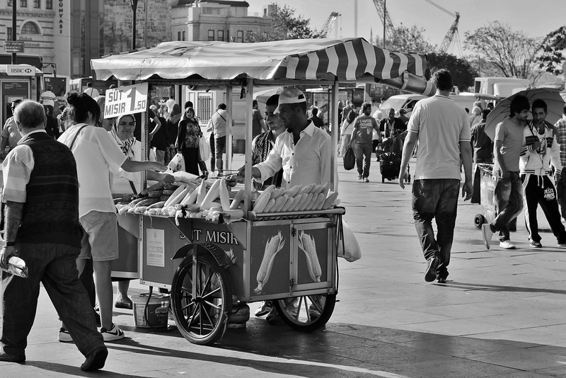 Corn seller - Eminonou
