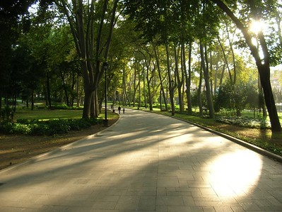 This lovely park near Topkapi