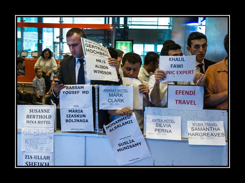 Ataturk Airport arrival
