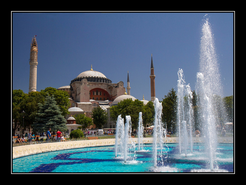 Hagia Sophia fountains