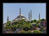 City scene Hagia Sophia