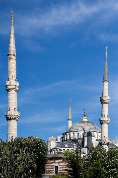 Blue Mosque seen from the Hippodrome