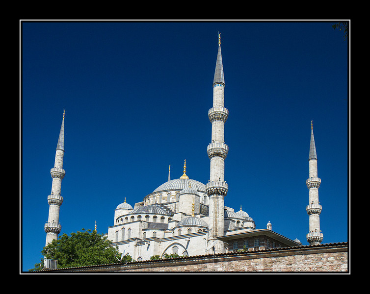 Mosque and minarets