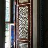 An inlaid door at Topkapi Palace