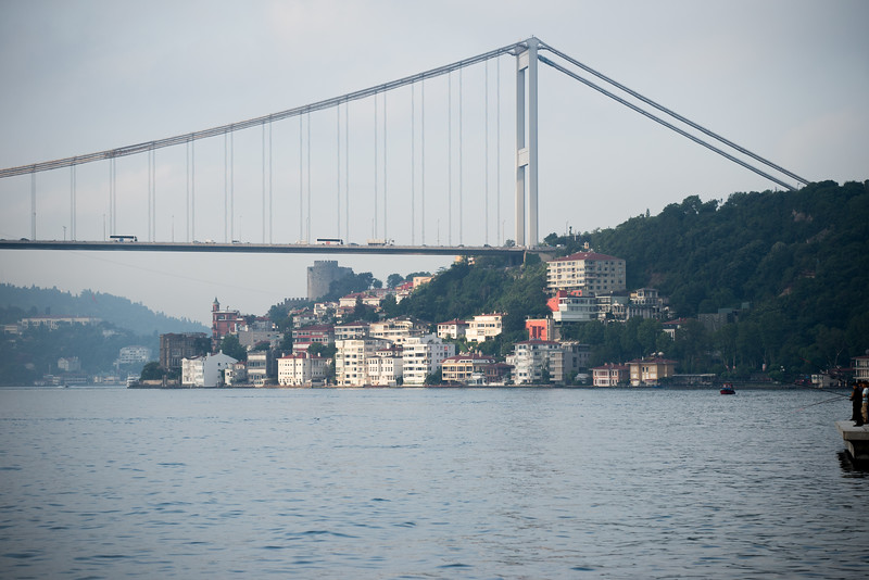 Bridge over Bosphorus