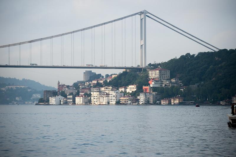 Bridge over Bosphorus