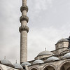 "The Süleymaniye Mosque was the largest mosque we visited, and is visible on the hill from across the Golden Horn and a ways up the Bosphorus. Construction began in 1550 and was completed in 1558. The famed architect, Mimar Sinan, was responsible for its design. It was commissioned by Suleiman I who was known as ""The Magnificient,"" and his mosque lives up to his name."