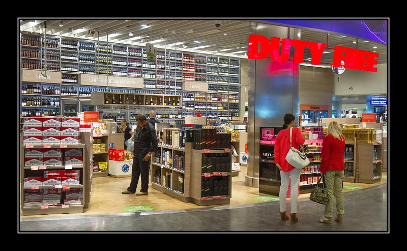 Ataturk Airport, Istanbul, Duty Free Shop