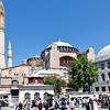 The Aya Sofya, completed in 537 by the Byzantines, converted to a mosque in 1453 by the Ottomans, and converted to a museum by Ataturk in 1935.