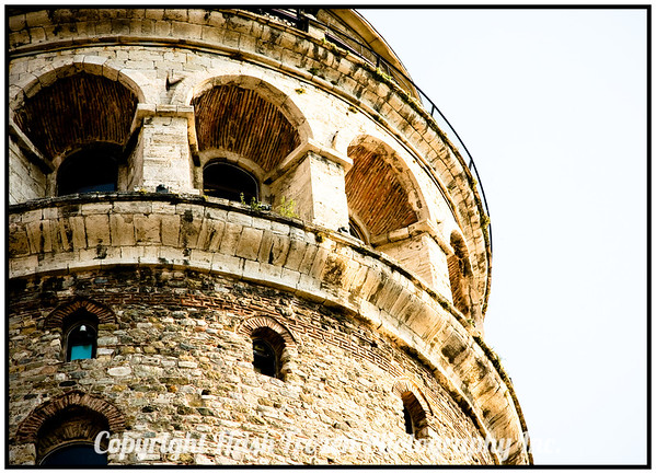 Galata Tower built about 1200 AD istanbul, Turkey