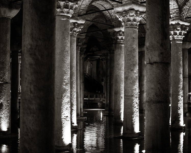 Cisterns under the city