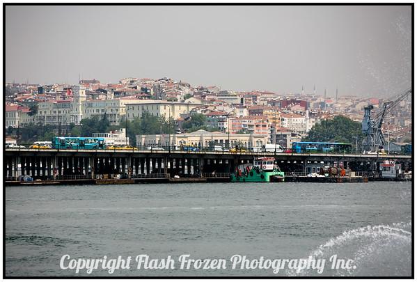 Bridge over the Bosphorus<br /> Istanbul, Turkey