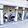 Ablution at the Blue Mosque