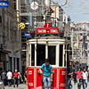 Trolley on Isliklal Caddesi