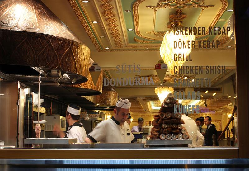 Kebab shop Istanbul style